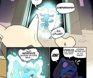 Insomniacovrlrd The Curse / La Maldición Colored-PokemonSpanish - part 3