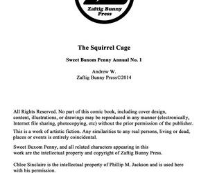 ZaftigBunnyPress The Squirrel Cage