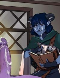 Jester Gets Around +other Mighty Nein art - part 2
