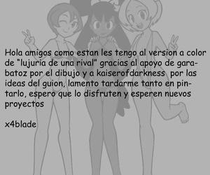 Garabatoz La Lujuría de una Adversary Pokemon Color Spanish