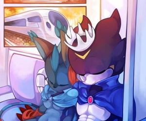 HerThatDraws Heat of Travel Digimon