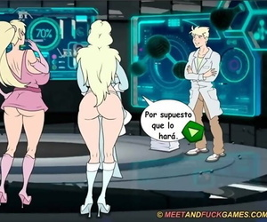 Defence coupled with Fuck - Super Whore Family 3 Español - part 2