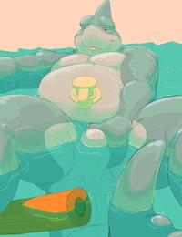 SharkyPaddedBottom - Daire301 Gallery Ongoing