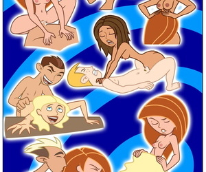 Kim Possible Spin- Sip & Strip!