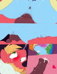 Dimwitdog Over a Barrel Full color- Sketches- Flats - part 2