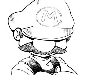 Super Mario Inktober - part 4