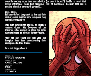Tracy Scops Kall Alves Ultimate Spider-Man XXX 12 - Spidercest - An itsy bitsy spider climbs up Spider-Man