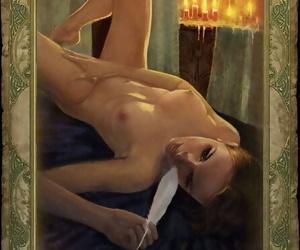 The Witcher 1 Affaire de coeur Cards - Censored- Uncensored- Artbook - part 2