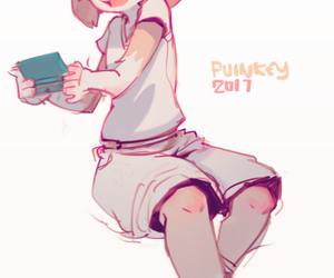 Artist Puinkey - affixing 3