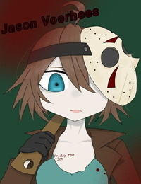 Spooky Waifu - Genderswap Jason Voorhees  Friday The 13th  - part 2