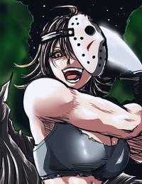 Spooky Waifu - Genderswap Jason Voorhees  Friday The 13th  - part 4