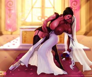 Barretxiii CYOA Futa Lesbian Wedding