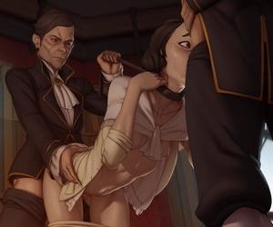 Men\'s room Doe Burnish apply Auric Make fun of Dishonoured Uncensored