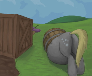 Ponies Stuck Through Wall - part 6