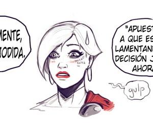 DevilHS Skills Girl Sobre Darkseid Spanish kalock