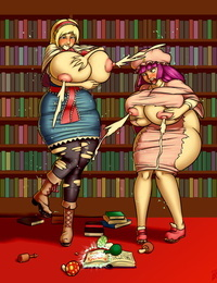 Magical Mishap at the Library