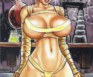 Budd Found Cavewoman: Creature Dreams - part 2