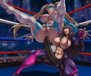 XXOOM Yuri vs Mika Shepherd Tough guy
