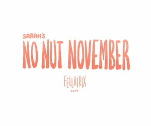 Sarahs No Pouch November