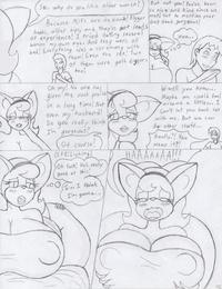 Foxtide888 Sketch Comics Gallery 2 - part 2