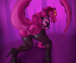 Interstellar Demon Stripper - ornament 4