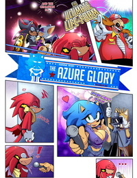 Cuisine Azure Glory Sonic the Hedgehog