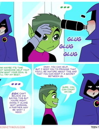 Incognitymous Getting Off Teen Titans
