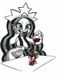 Starbucks Starbucks-chan STB-chan and Wendy  Mascots