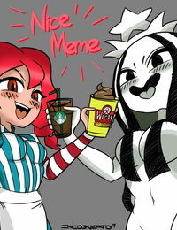 Starbucks Starbucks-chan STB-chan and Wendy  Mascots  - part 4