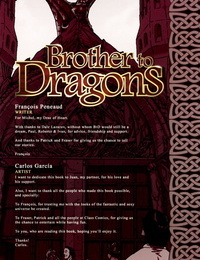 Carlos Garcia Brother to Dragons - Book 1
