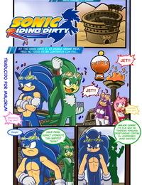 Escopeto & Dreamcastzx1 Sonic Riding Dirty Sonic the Hedgehog Spanish Malorum