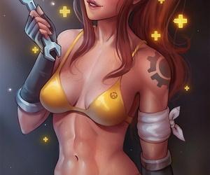 Overwatch Brigitte - affixing 3