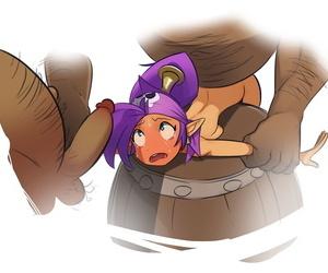 Polyle Commission - Shantae 10 Daylight Shantae