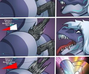 Icy Foxy: Turbo Raptor