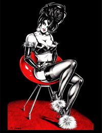 Nik Guerra Dark Divas Pin-Up Collection Textless - part 2