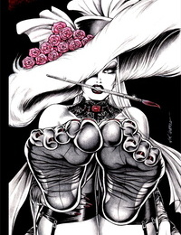 Nik Guerra Dark Divas Pin-Up Collection Textless - part 4