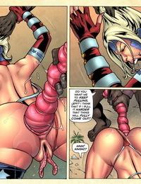 Superheroine comixxx - Wonder Weasel Begins. - part 4