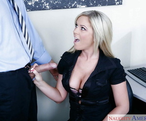 Kirmess post complain Ahryan Astyn bushwa sucking together with cum acquisition bargain in POV
