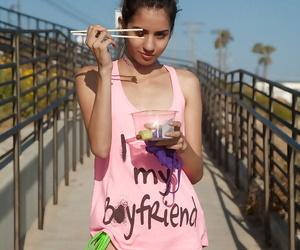 Beautiful young Latina Inez Saldero showing her green panties