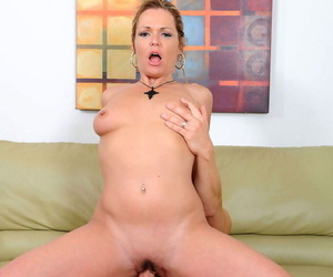 Lickerish adult main Kelly Leigh unzips the brush guys pants with an increment of sucks with an increment of fucks him