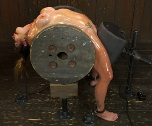 Felony and Mz Berlin try a of a male effeminate BDSM session with distressing debasement