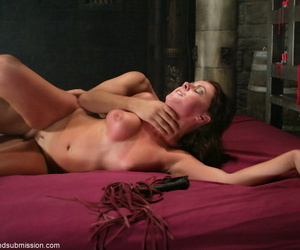 Once Penny Flame got tied up- he fucked her in hardcore fashion