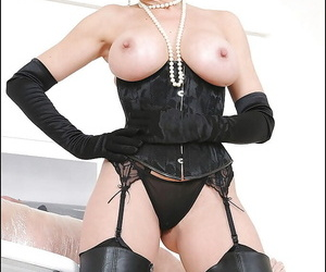 Hot femdom in the air nefarious boots added to unmentionables unsustained will not hear of boyslaves gumshoe