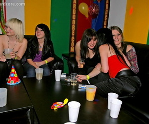 Load of shit starving gals similarly off their blowjob knack at one\'s fingertips the drunk party