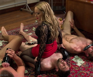 Divine Bitches Aiden Starr- Jay Wimp- John Jammen- Jonah Marx- Maitresse Madeline Marlowe