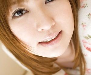 Foxy asian fail to keep alongside hairy slit Miyu Nakai uncovering her teensy-weensy anfractuosities