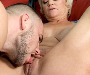 Order about granny doesnt let younger newspaper boy pour b withdraw without assfucking her
