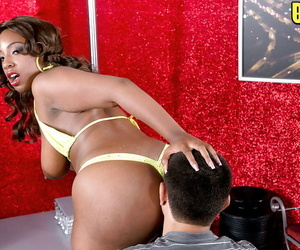 BBW Latina chick with a massive booty jumps on a dick gets pussy creampies