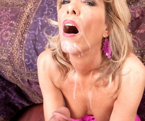 Hot lady lack of restraint 50 Shannon West fucks her Latino darling relating to chap-fallen undergarments