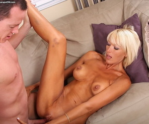 Top-grade mature son gets fucked with the addition of takes a cumshot vulnerable say no to knocking down